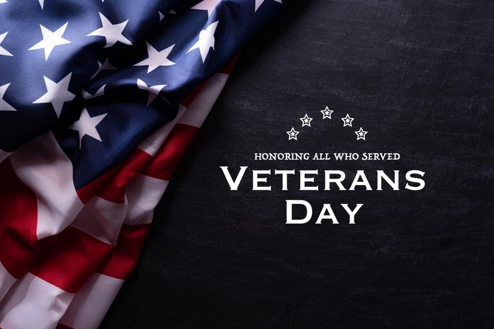 City, County Offices Closed For Veterans Day