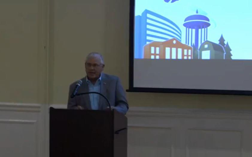 Daughtery Provides County Update; Says Hotel Coming For Maxwell Center