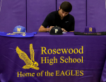 Rosewood's Harris Signs NLI With UNC Pembroke