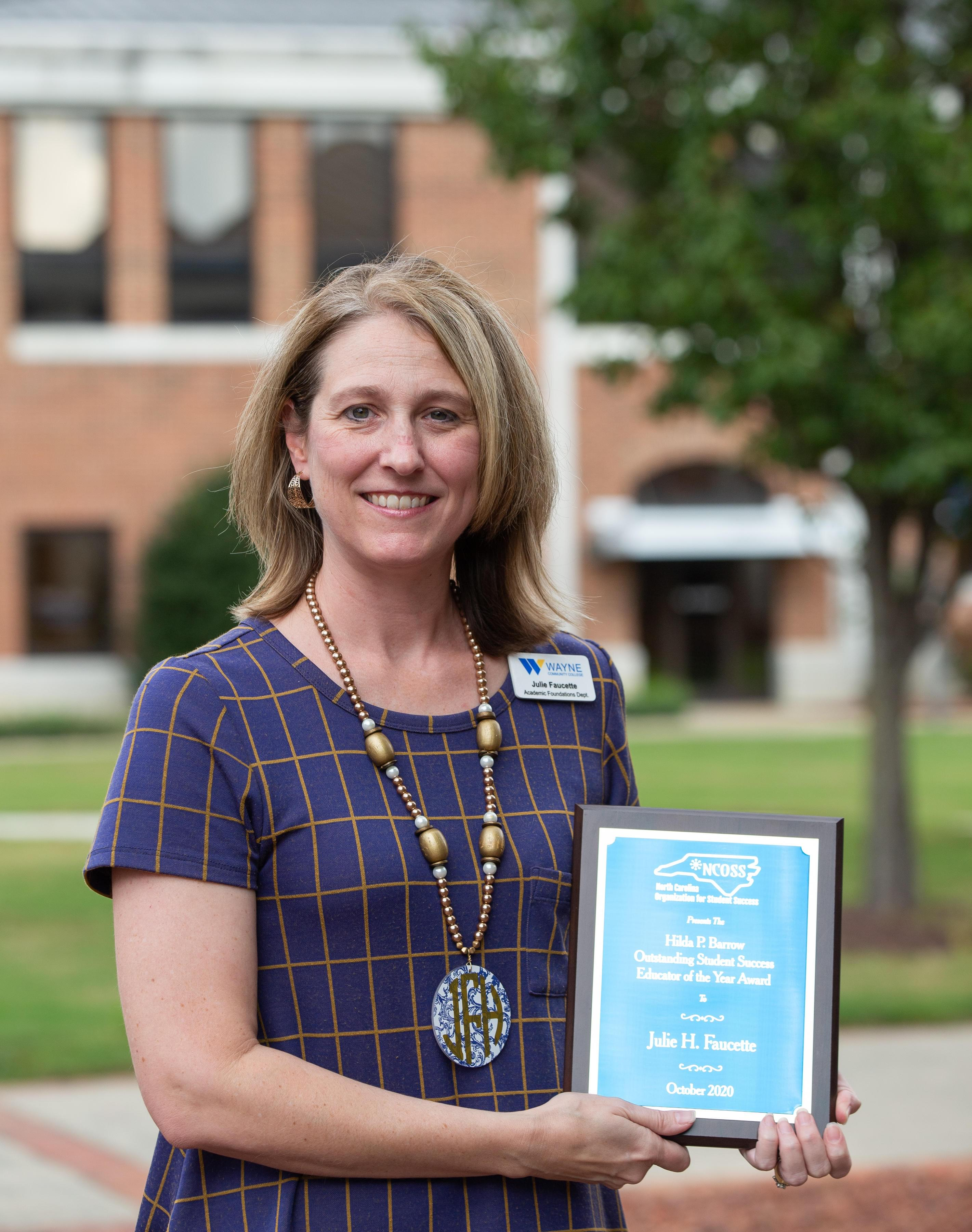 Faucette Named Outstanding Educator