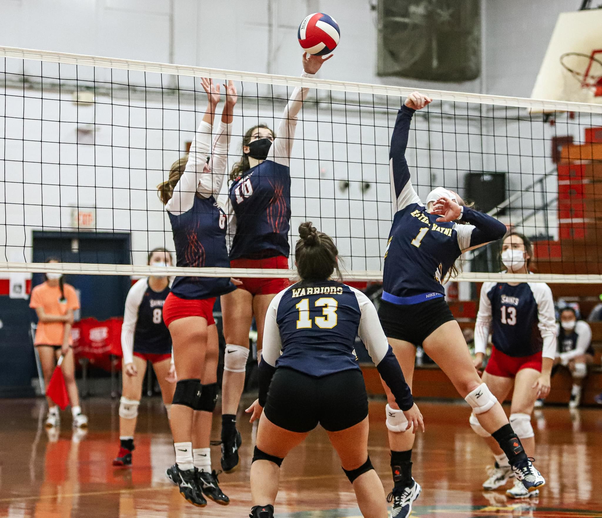 Volleyball: Southern Wayne Topples Eastern Wayne (PHOTO GALLERY)