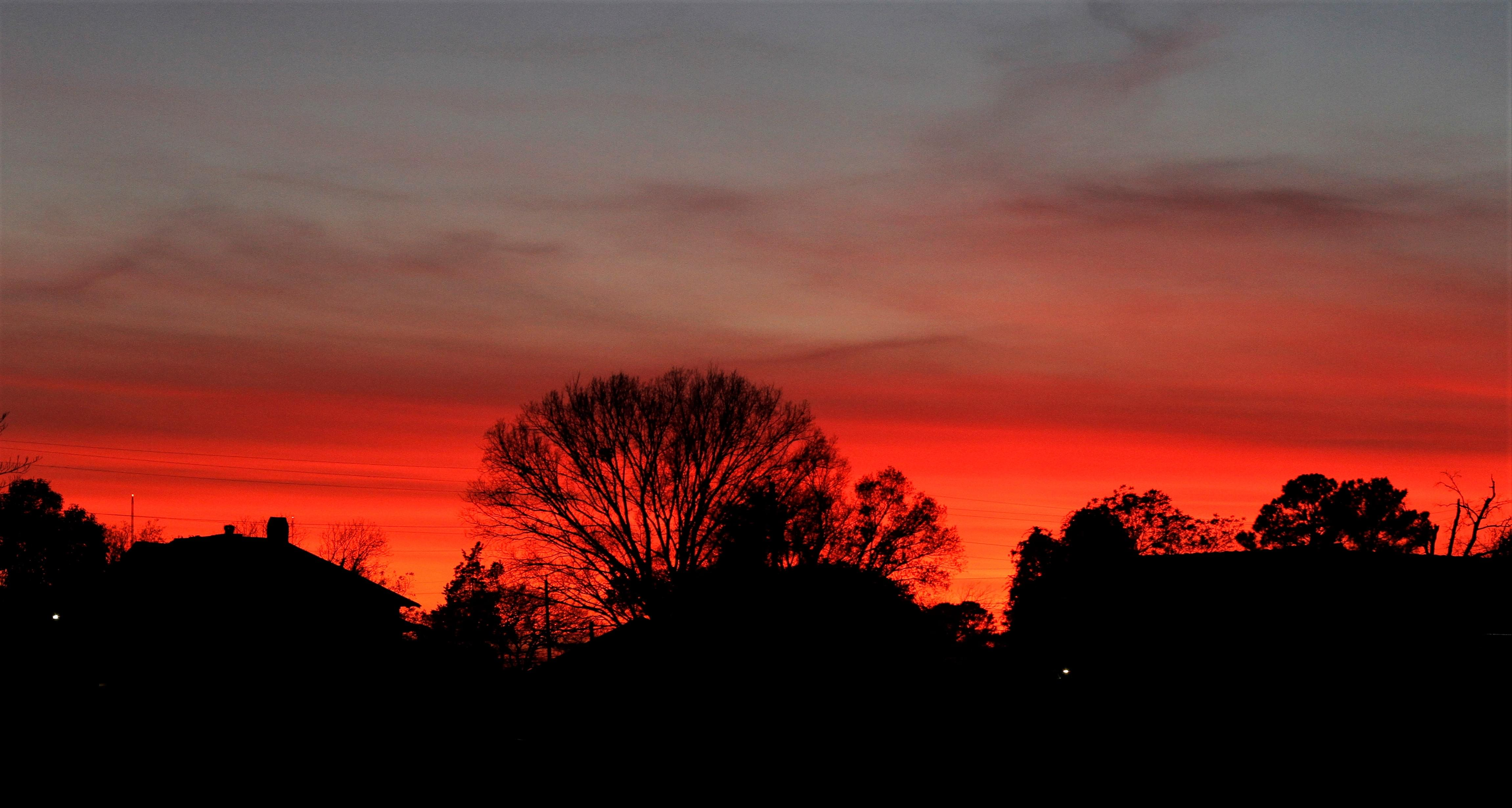 PIC OF THE DAY: A Brilliant Sunset In Goldsboro