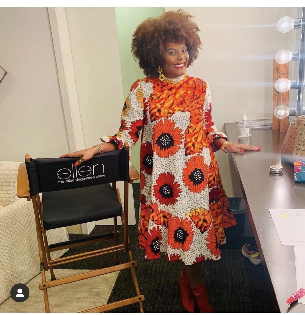 Nashona Dresses Make TV Debut