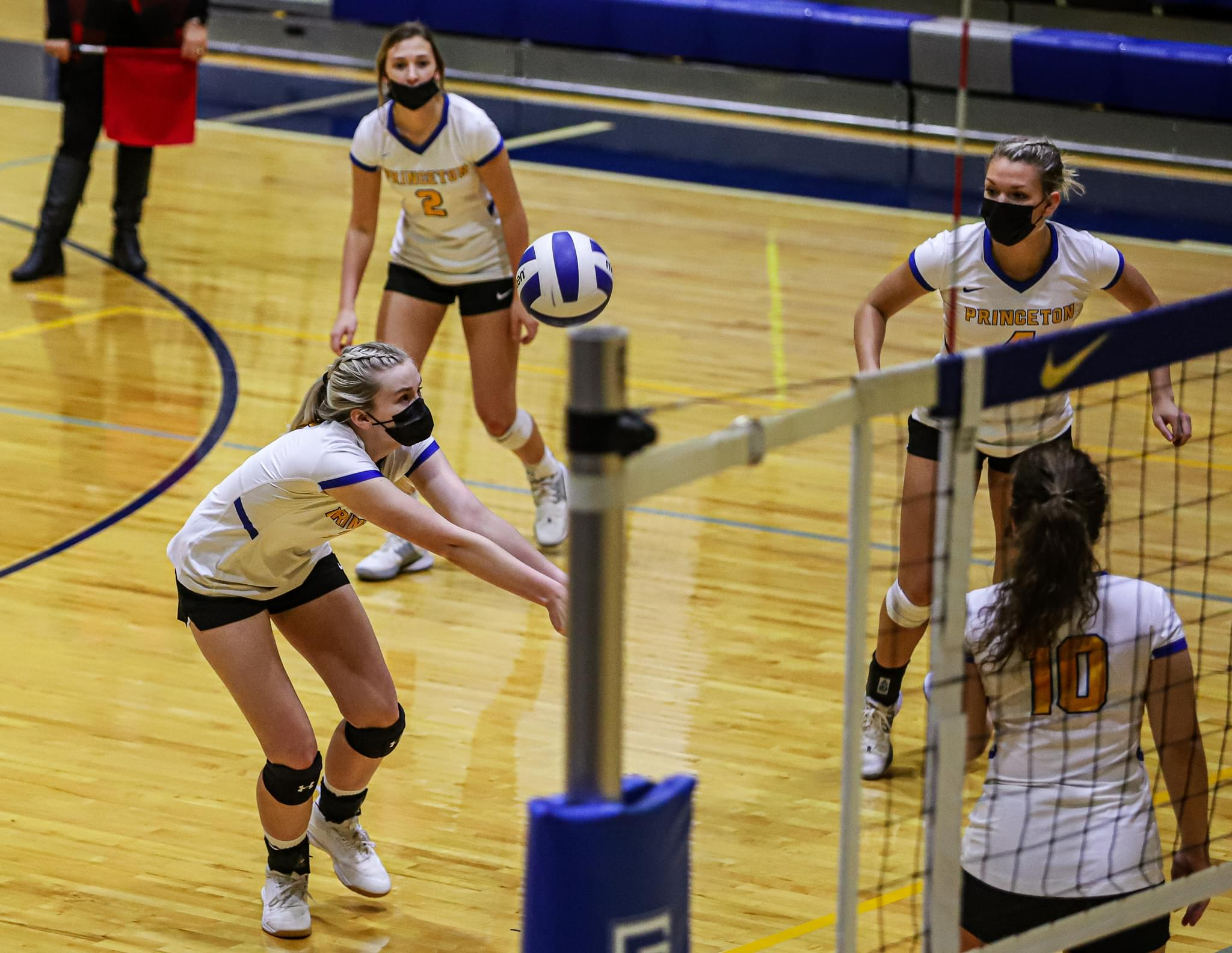 Volleyball: Princeton Tops North Duplin In Straight Sets (PHOTO GALLERY)