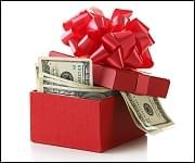 $100 Christmas Cash
