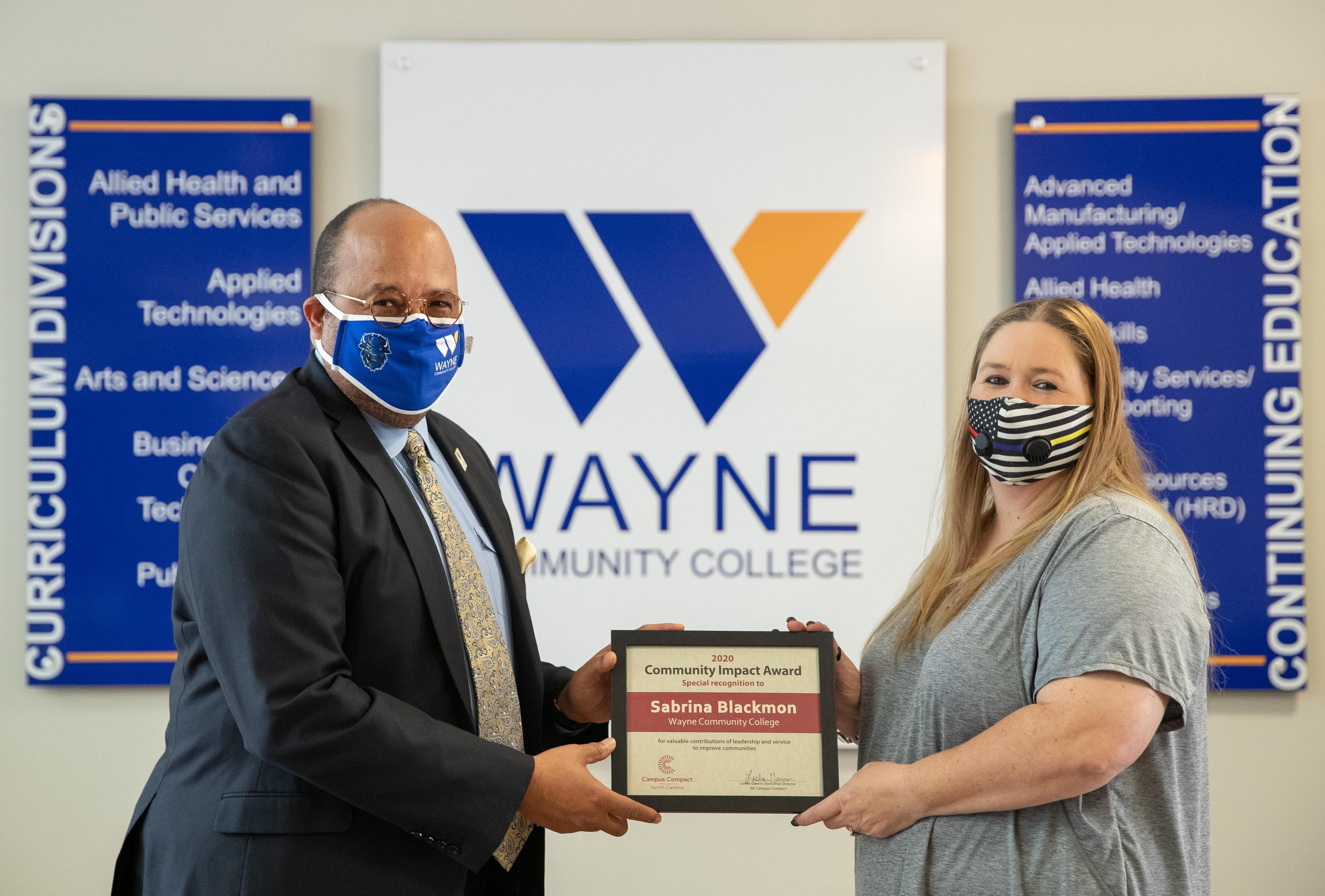 WCC Student Honored For Service