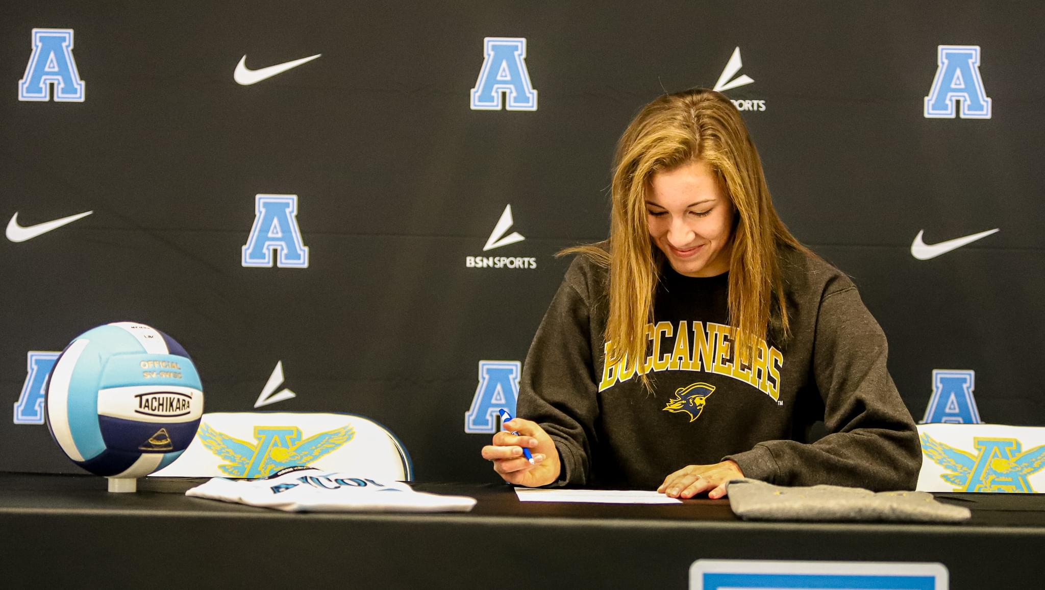 C.B. Aycock's Abbey Thomas Signs With East Tennessee State University
