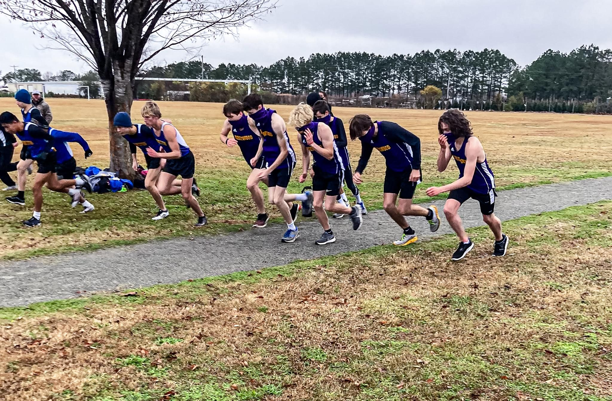 Cross Country: Princeton, Rosewood and North Duplin Compete in CC Meet