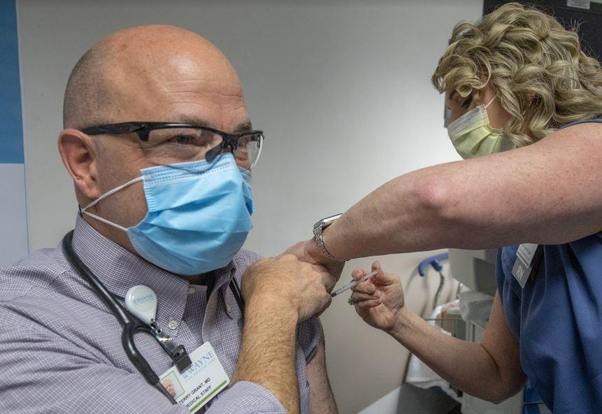 Vaccine Registration Begins For Individuals Age 75 & Older