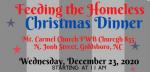 Feeding The Homeless Christmas Dinner On Wednesday
