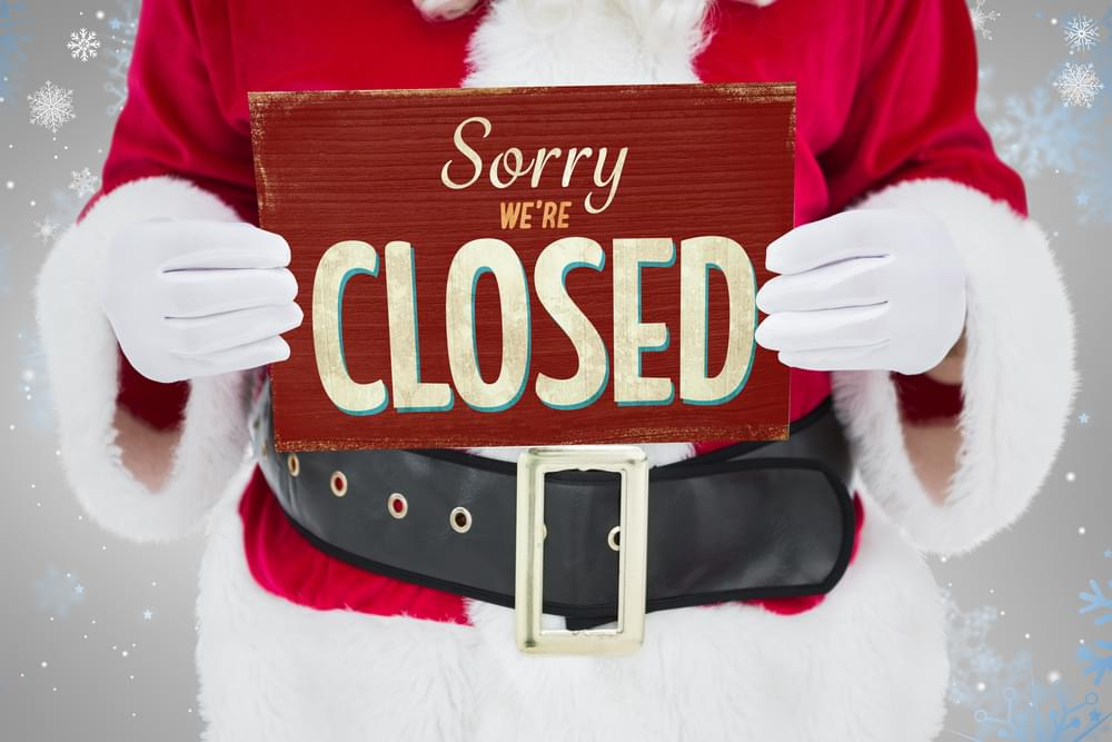 City, County Offices Closed For Christmas