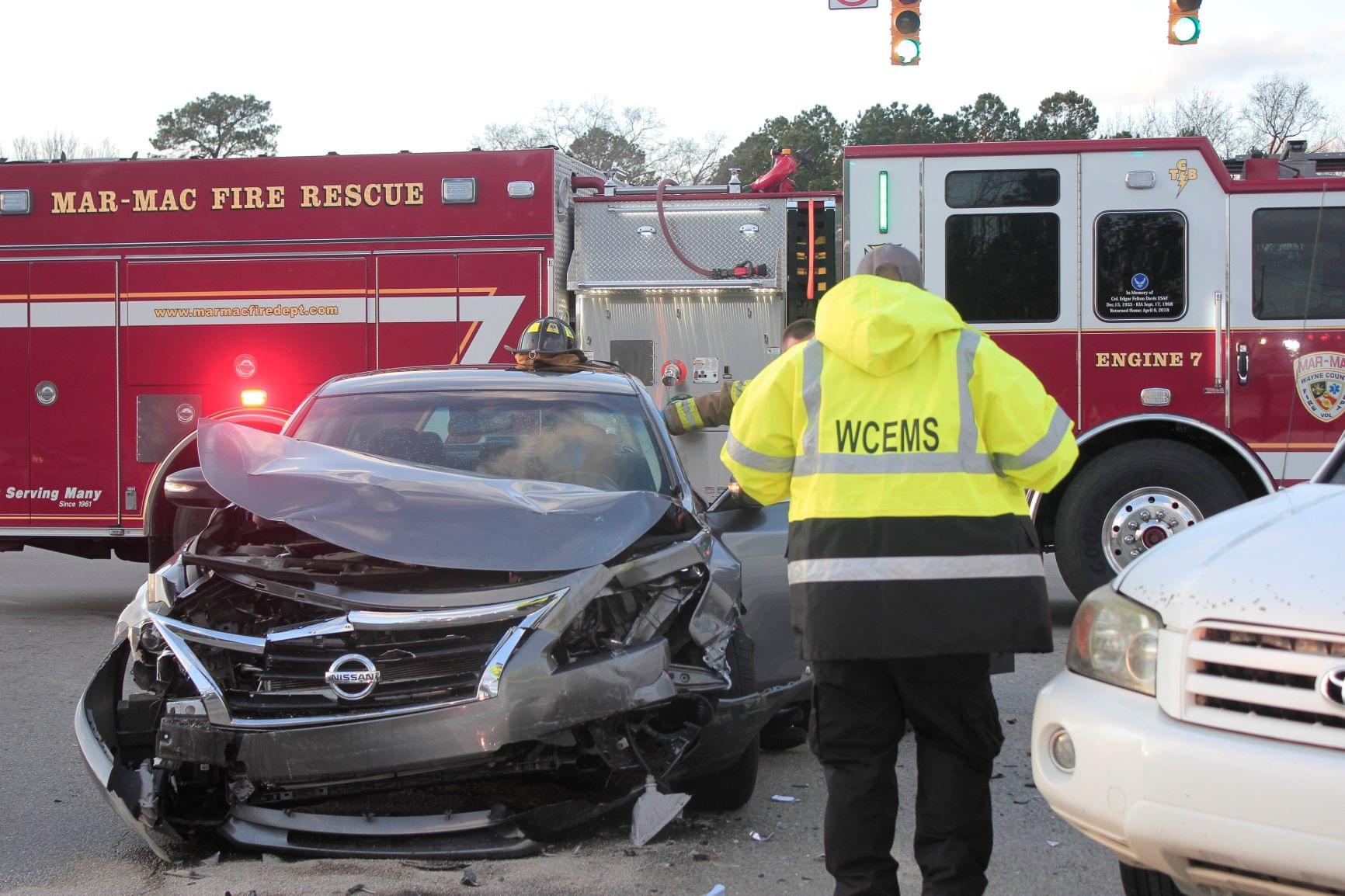 One Hospitalized In Christmas Day Crash Near Mar-Mac