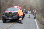 Driver, Vehicle Pulled From Rising River (PHOTOS)