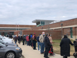 Elderly Residents Line Up To Receive COVID-19 Vaccine (PHOTOS)