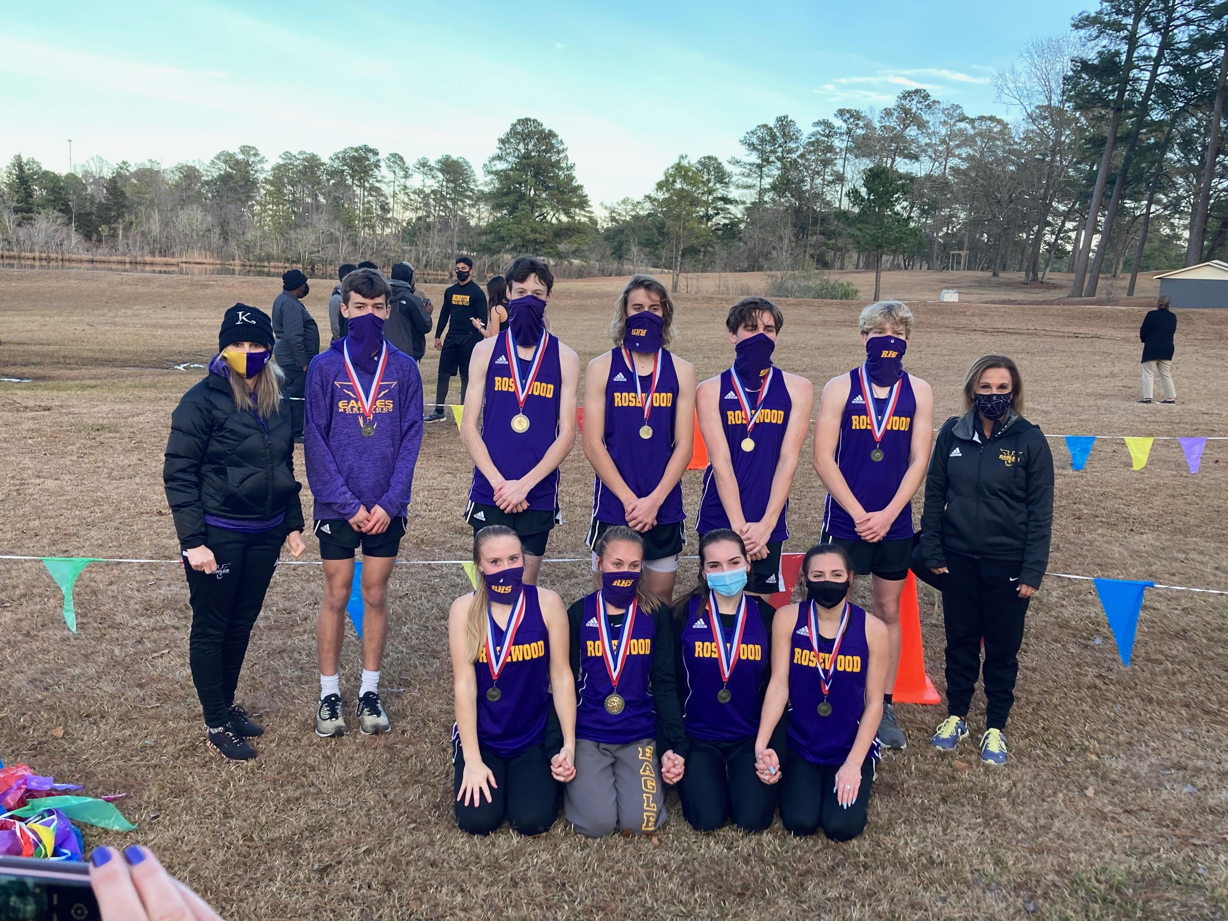 Cross Country: Rosewood Boys And Girls Each Finish In First Place
