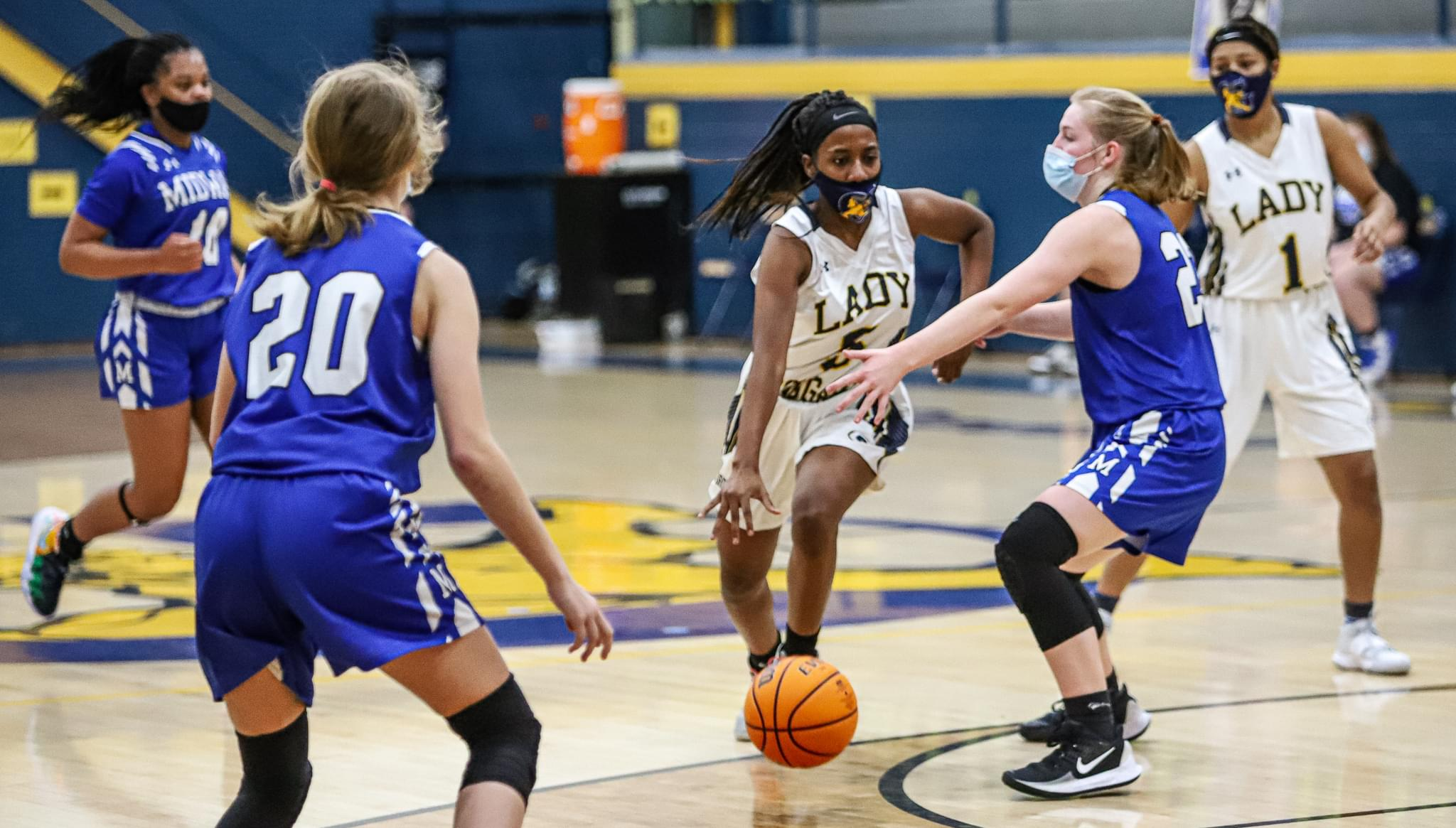 Girls Basketball: Goldsboro Holds Off Midway (PHOTO GALLERY)
