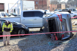 Train Strikes Vehicle In Fremont (PHOTO GALLERY