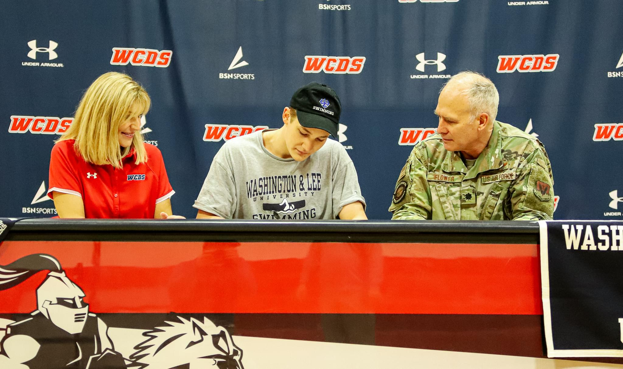 Wayne Country Day's Flower Signs NLI To Swim At Washington And Lee