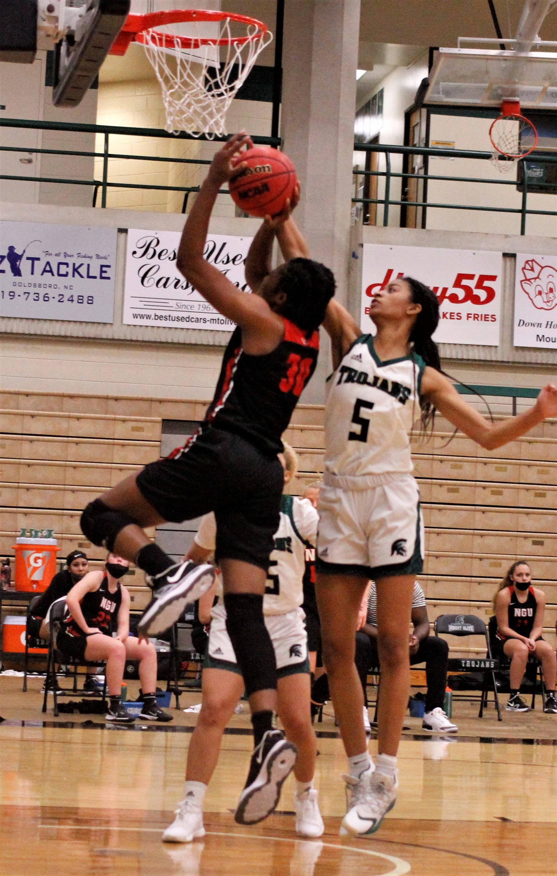 Women's Basketball: North Greenville At UMO