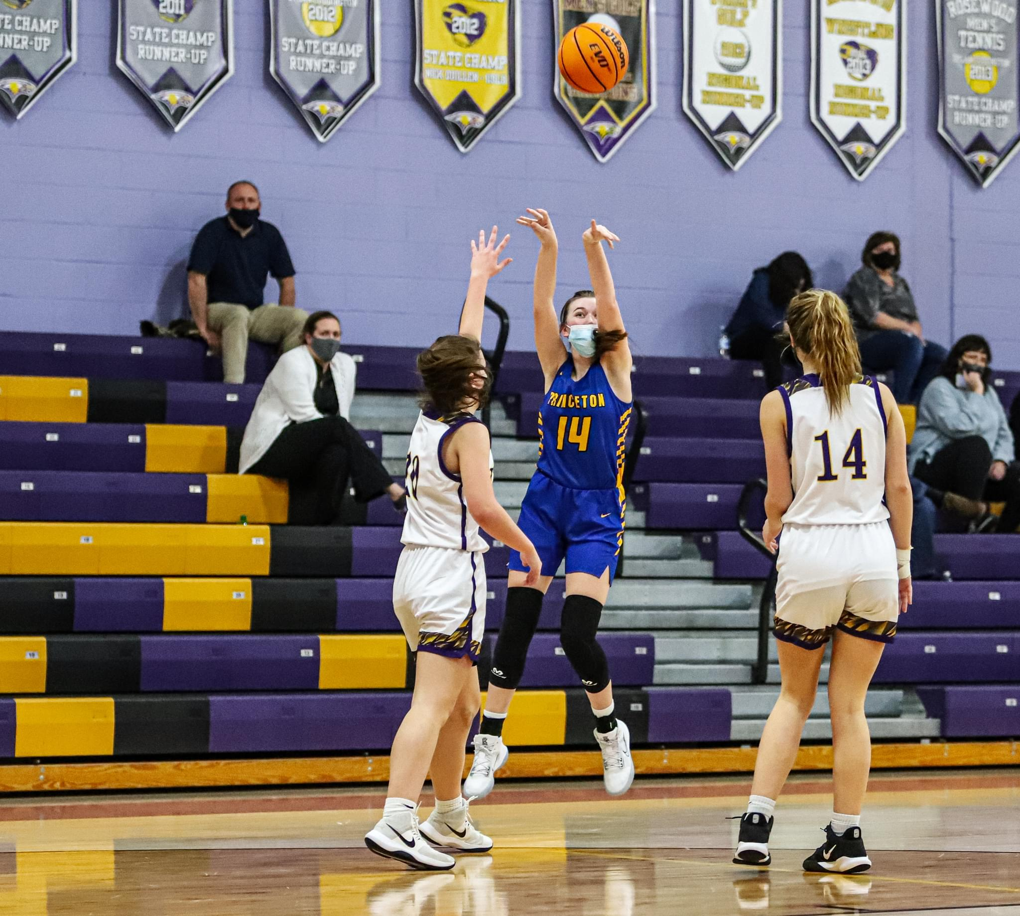 Girls Basketball: Princeton Remains Perfect On The Season (PHOTO GALLERY)