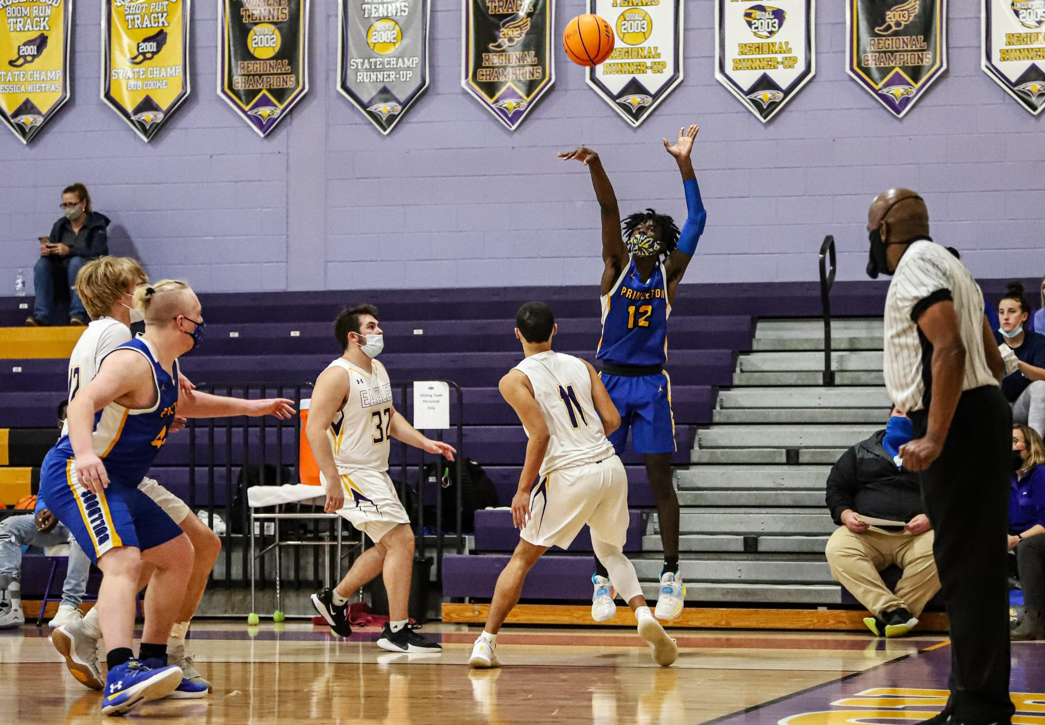 Boys Basketball: Princeton Turns Back Rosewood To Remain Undefeated (PHOTO GALLERY)