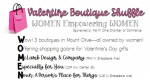 Mount Olive Chamber Hosts Valentine Boutique Shuffle Feb. 5 & 6
