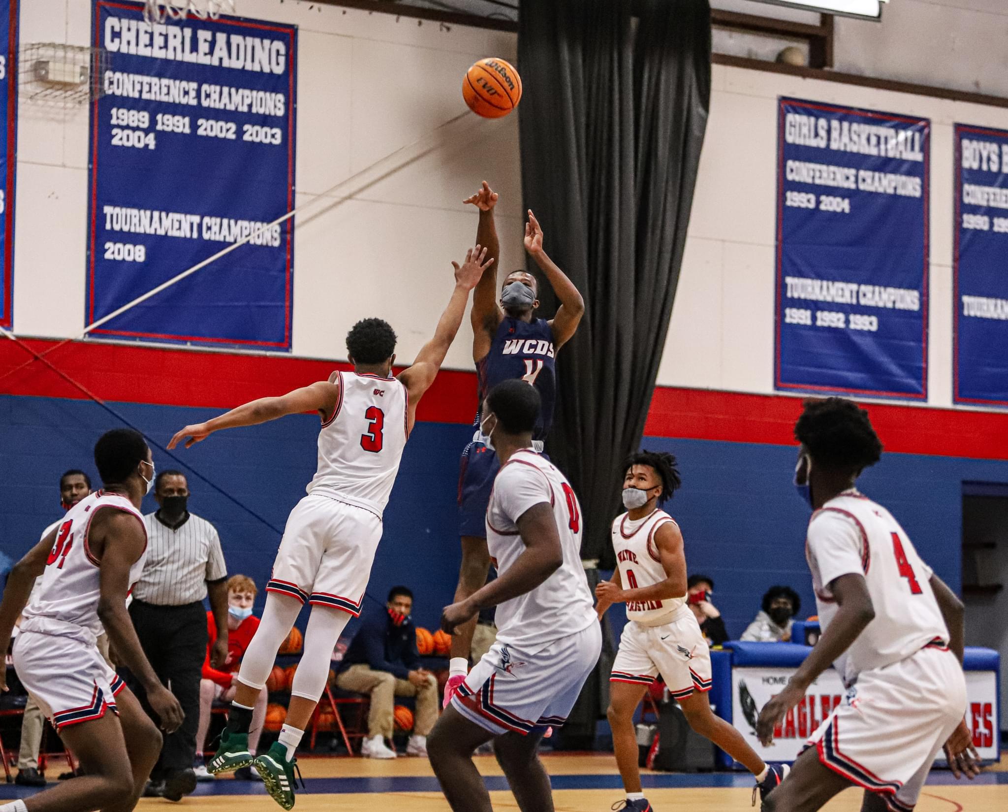 Boys Basketball: WCDS Escapes Against Wayne Christian (PHOTO GALLERY)