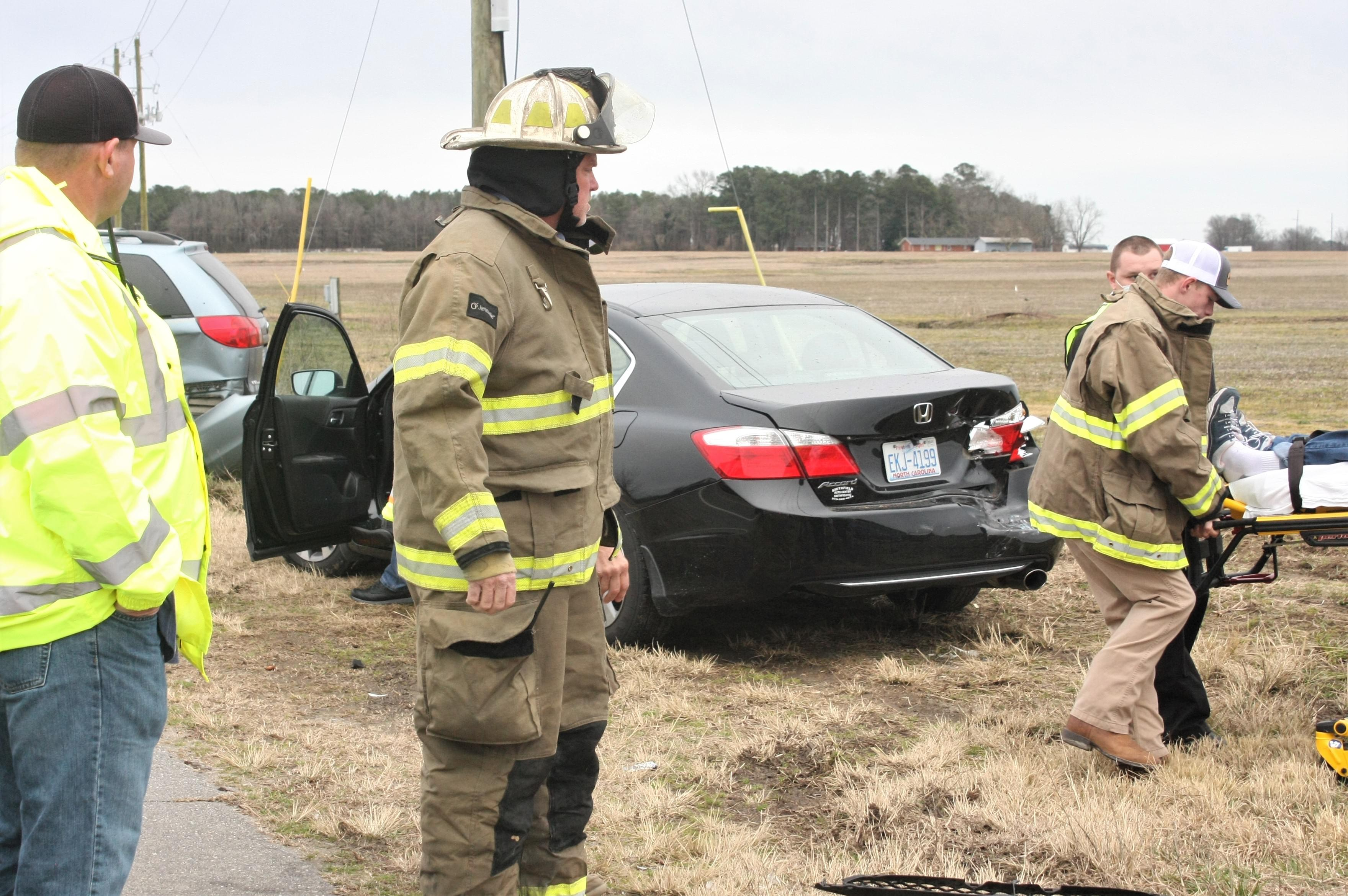 Vehicles Collide On Hwy. 55 (PHOTO GALLERY)