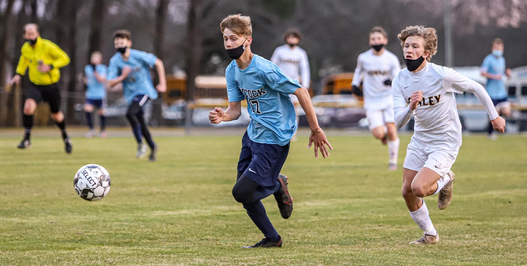 Boys Soccer: D.H. Conley Turns Back C.B. Aycock (PHOTO GALLERY)
