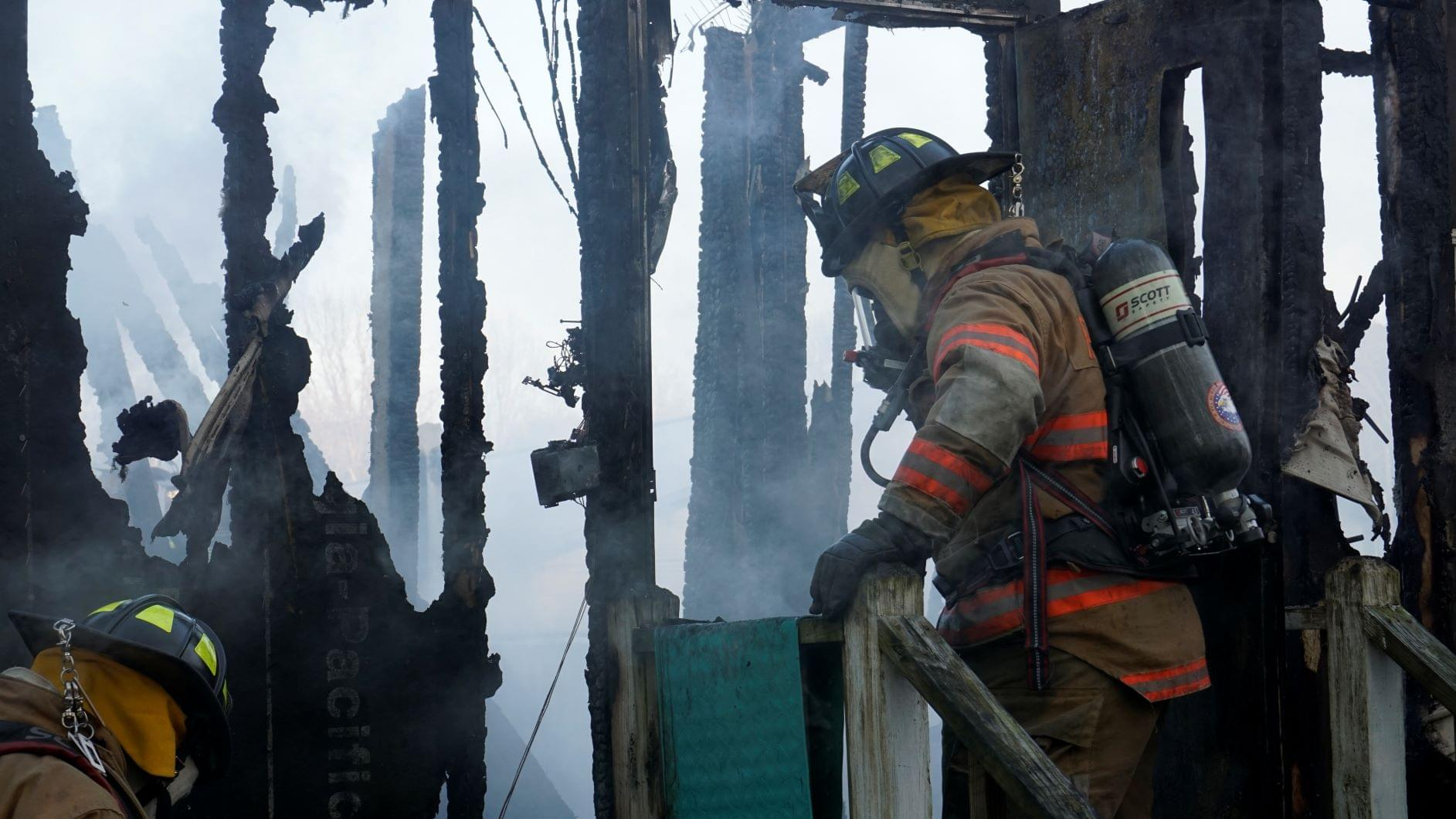 Duplin County Mobile Home Goes Up In Flames (PHOTO GALERY)