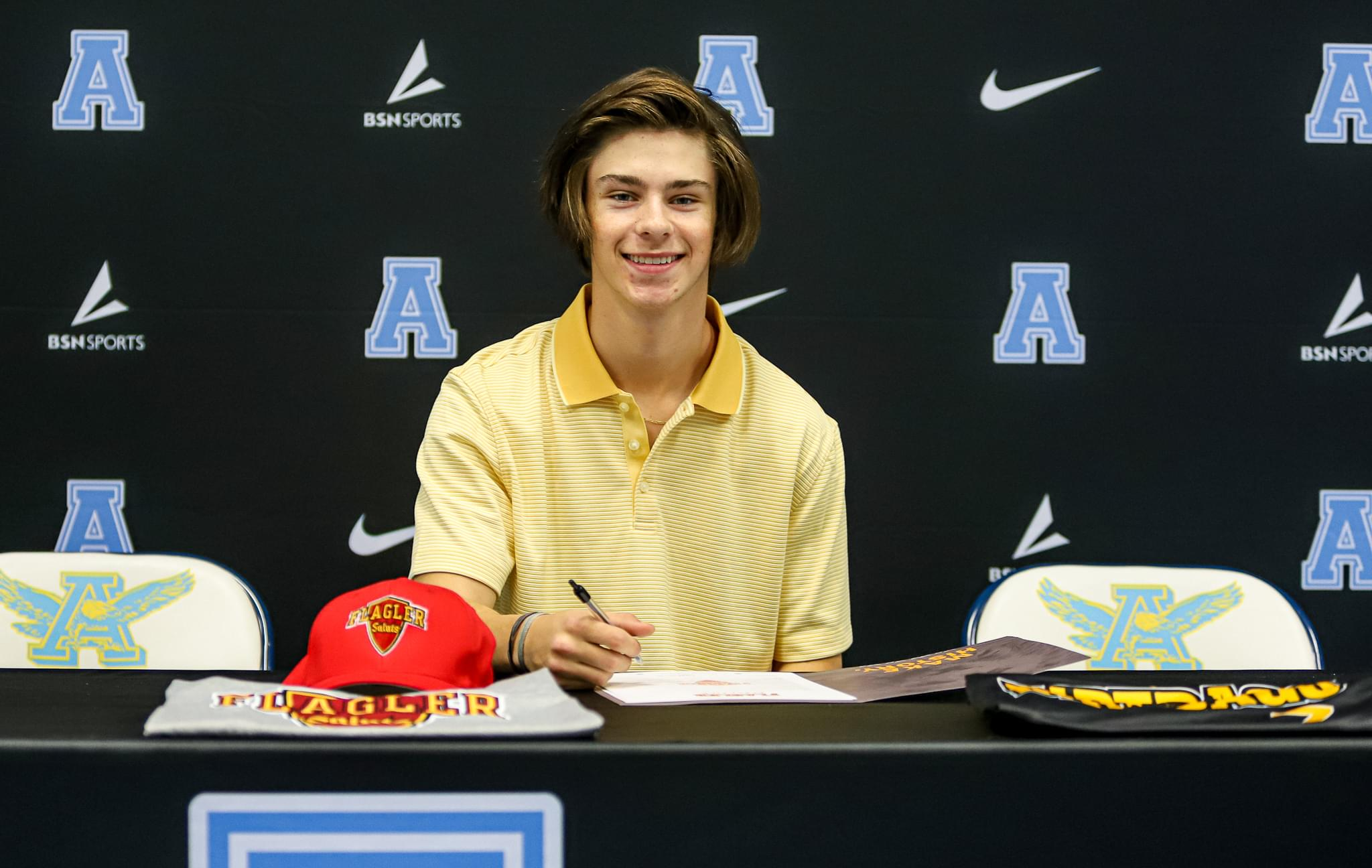 C.B. Aycock's Forbis Inks NLI With Flagler College