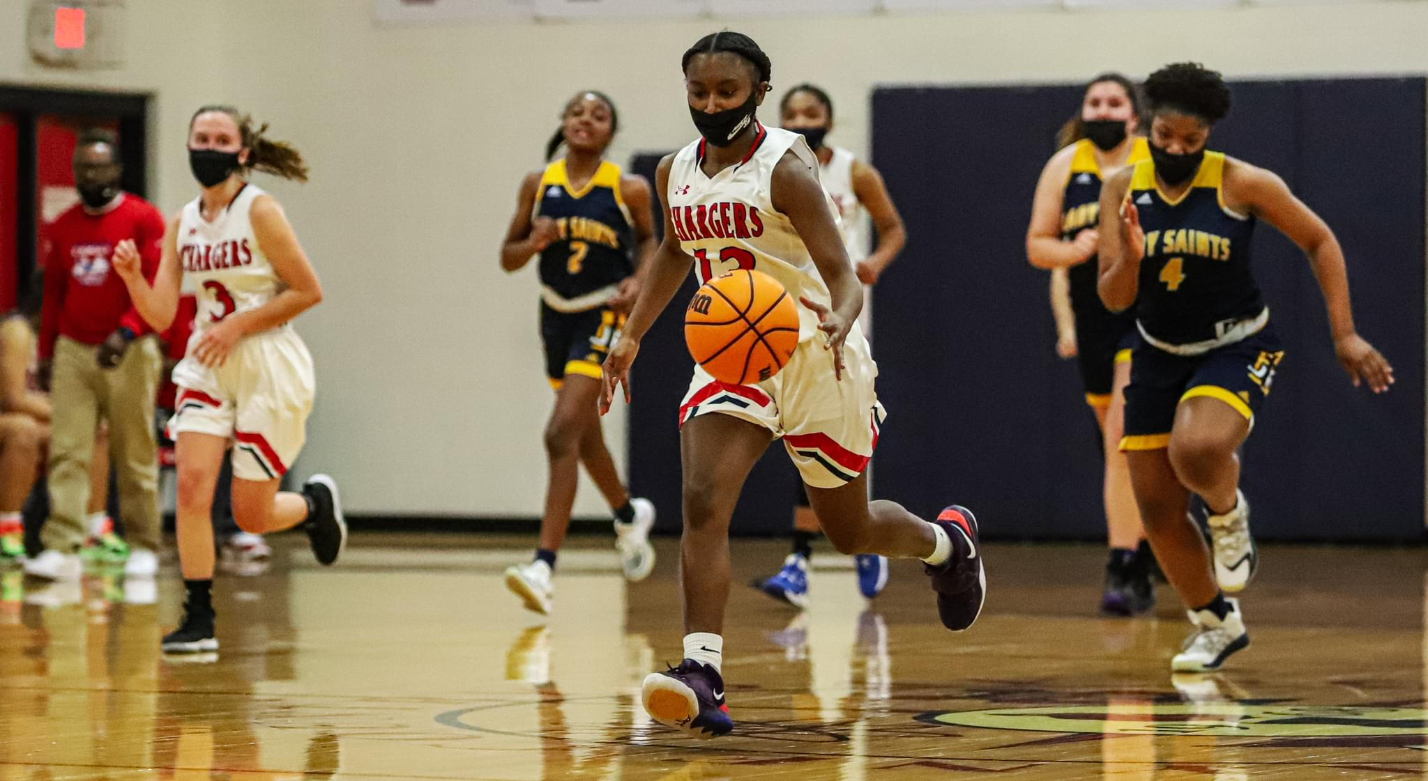 Girls Basketball: WCDS Wins Its Playoff Opener (PHOTO GALLERY)
