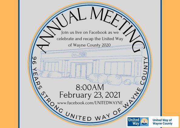 United Way Takes Annual Meeting Online
