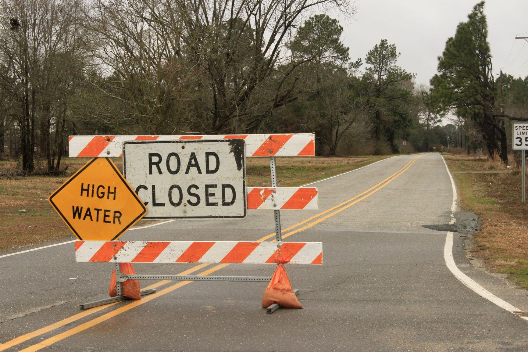 Neuse River Levels Slowly Dropping