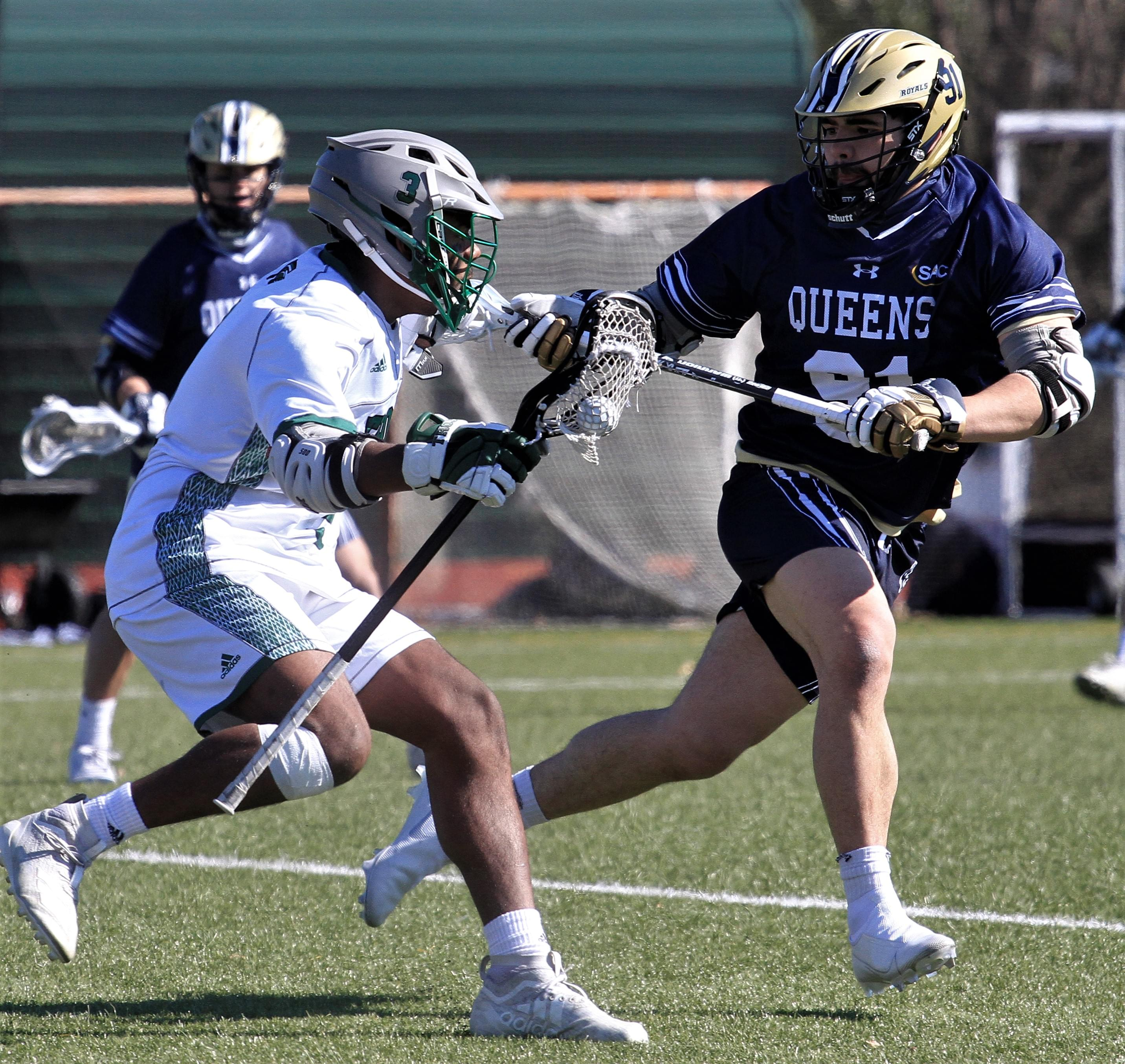 Men's Lacrosse: Queens University At UMO (PHOTO GALLERY)