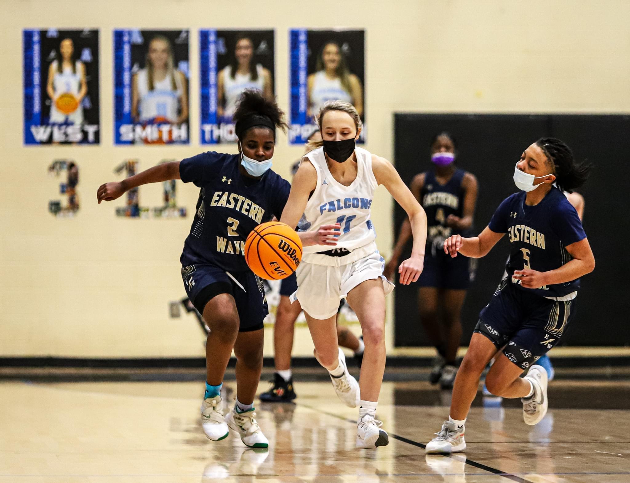 Girls Basketball: Golden Falcons Defeat Eastern Wayne On Senior Night (PHOTO GALLERY)