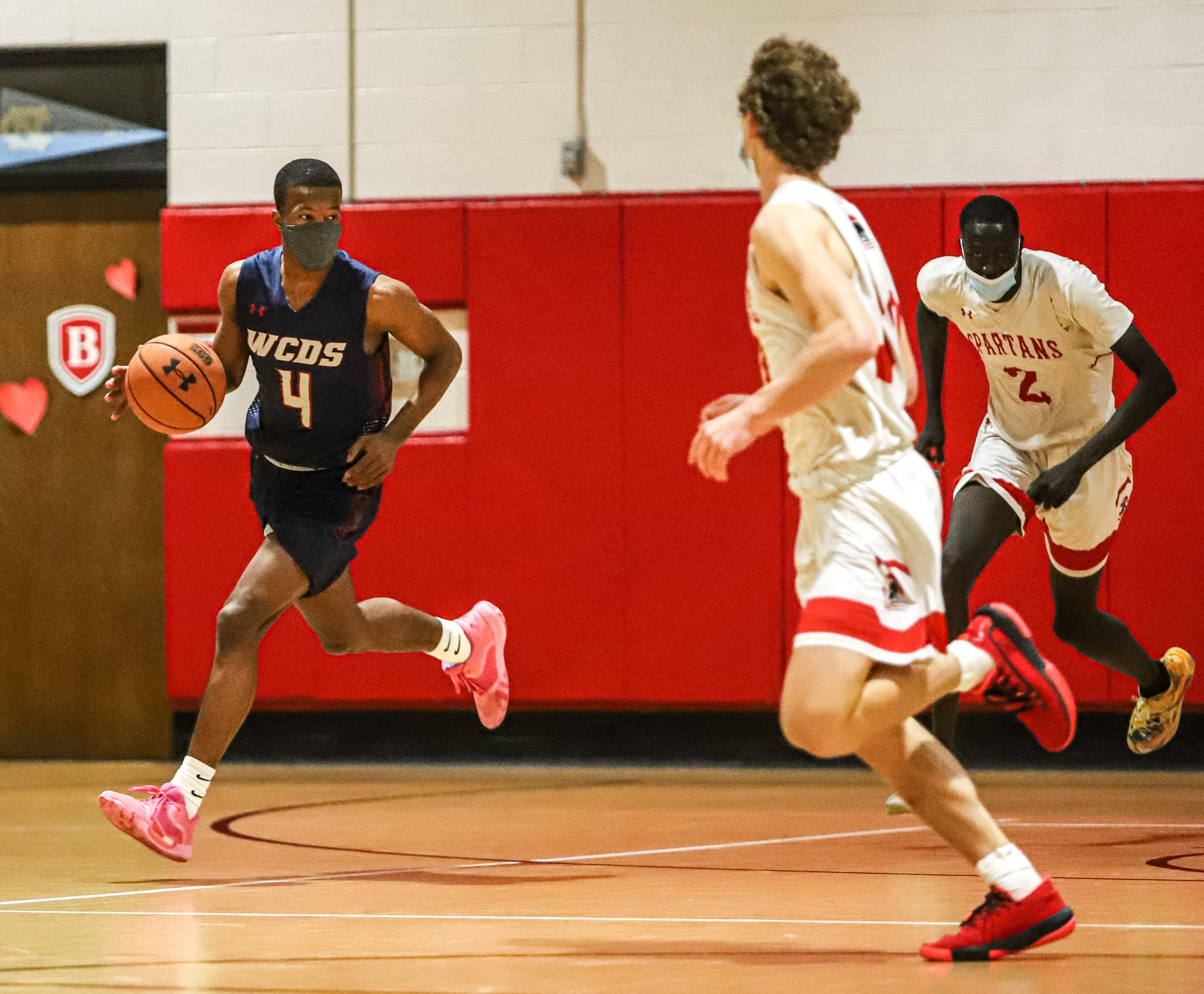 Boys Basketball: The Burlington School Upends WCDS In NCISAA Semifinals (PHOTO GALLERY)