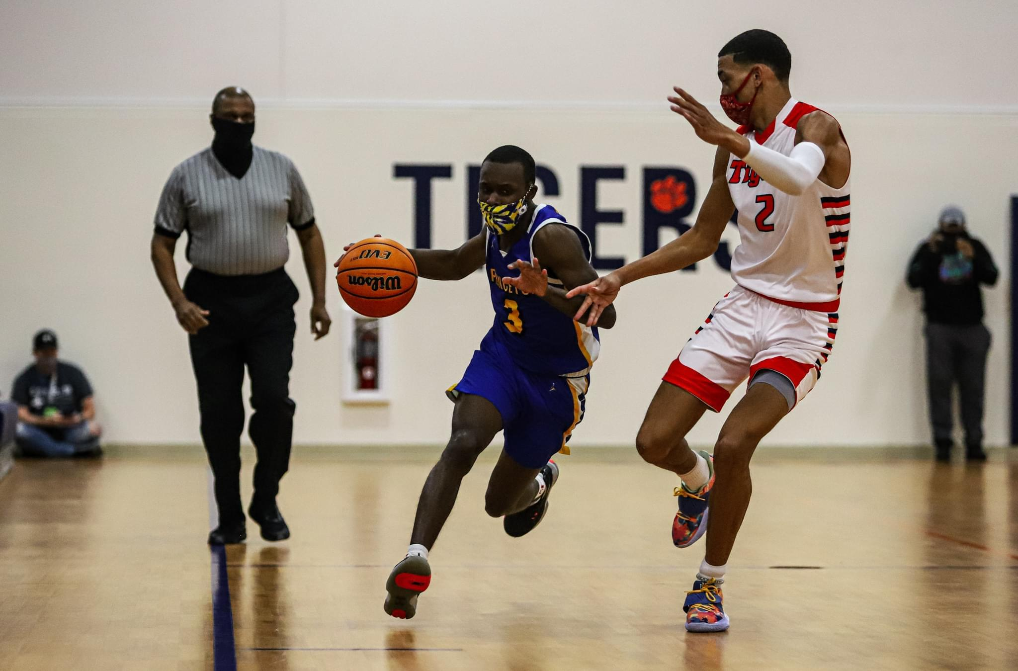 Boys Basketball: Wilson Prep Comes Back To Beat Princeton In NCHSAA Second Round (PHOTO GALLERY)