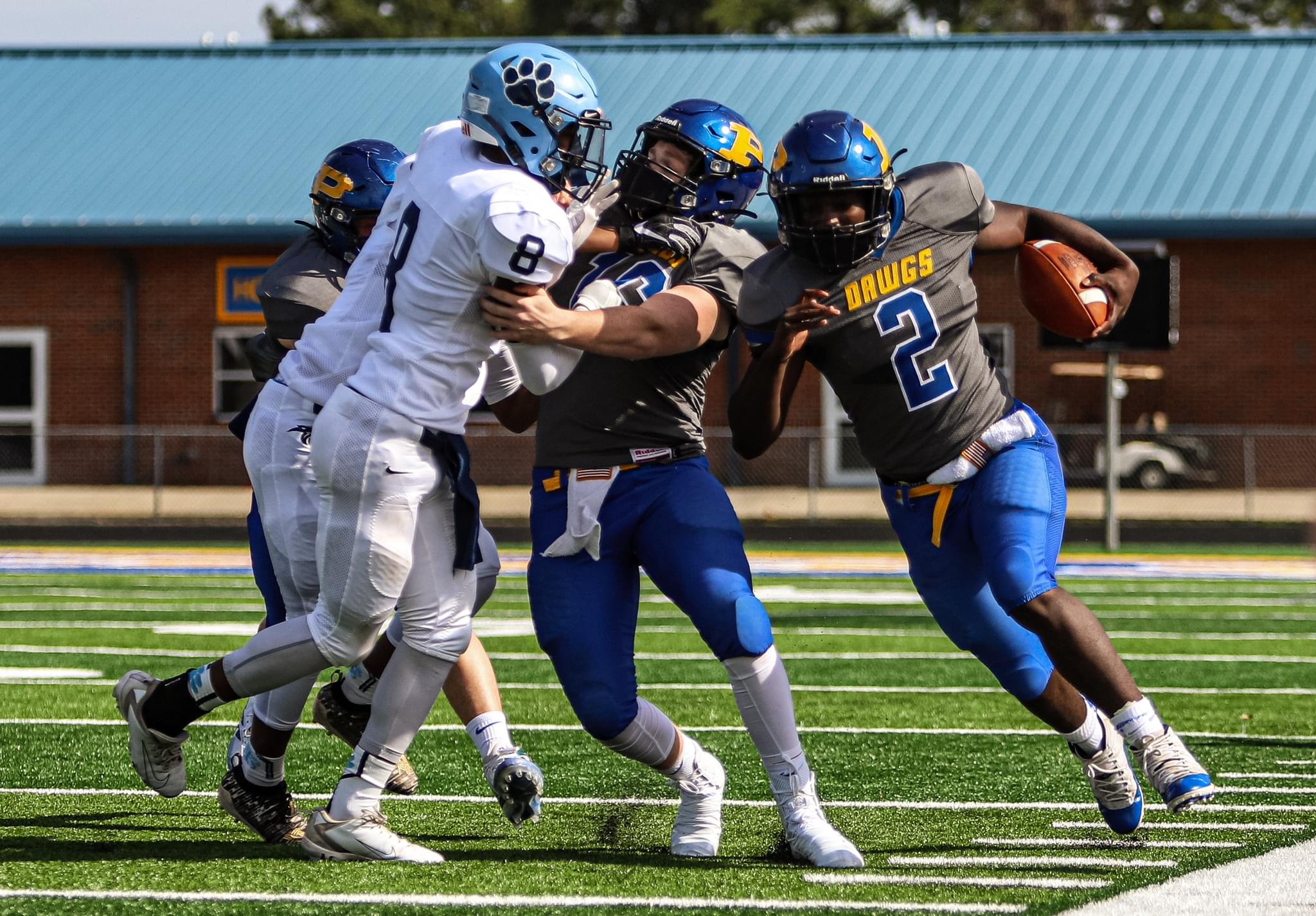 Football: Princeton Wins Season Opener Against East Duplin (PHOTO GALLERY)