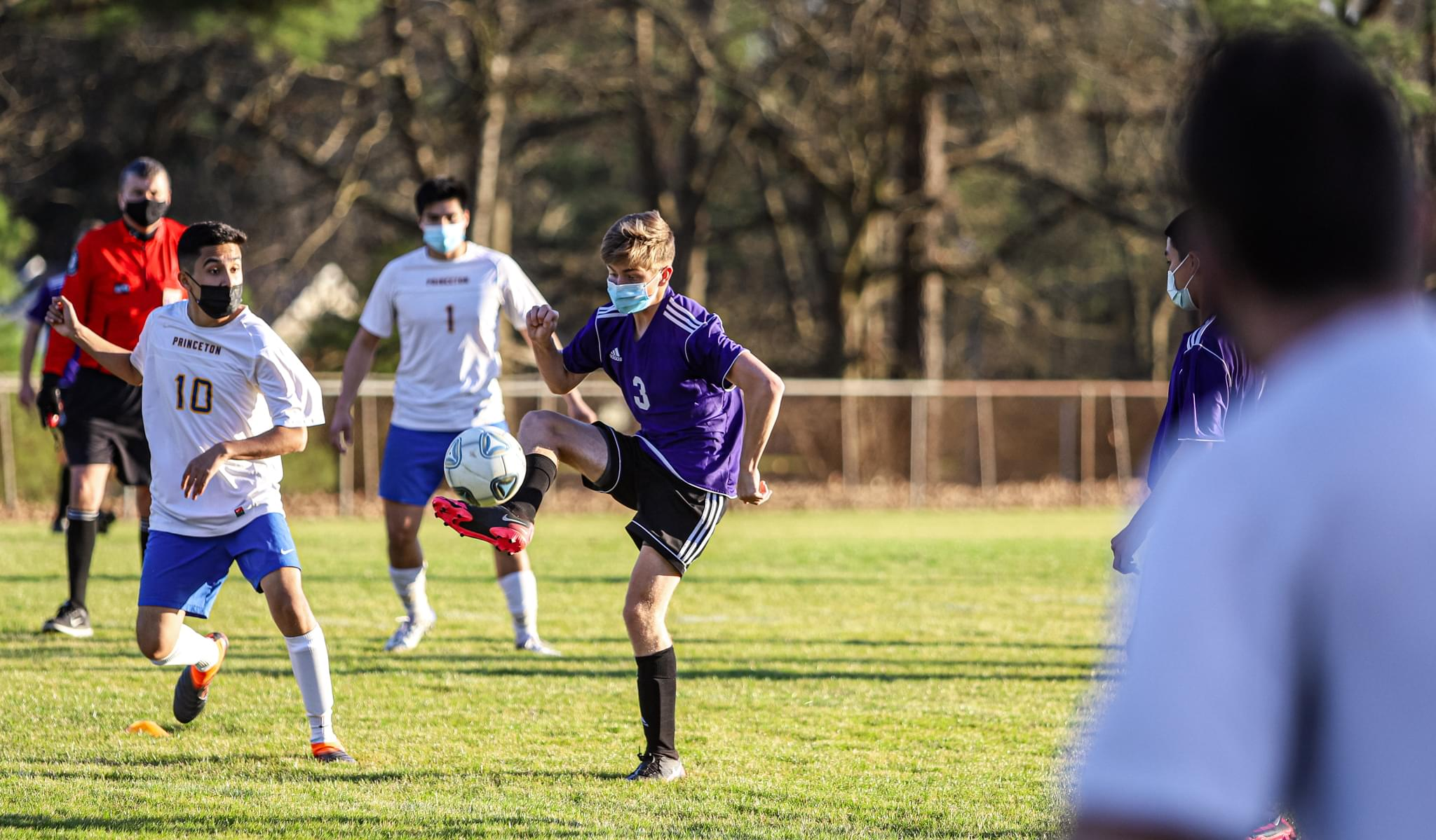Boys Soccer: Rosewood Beats Princeton For The Third Time This Season (PHOTO GALLERY)