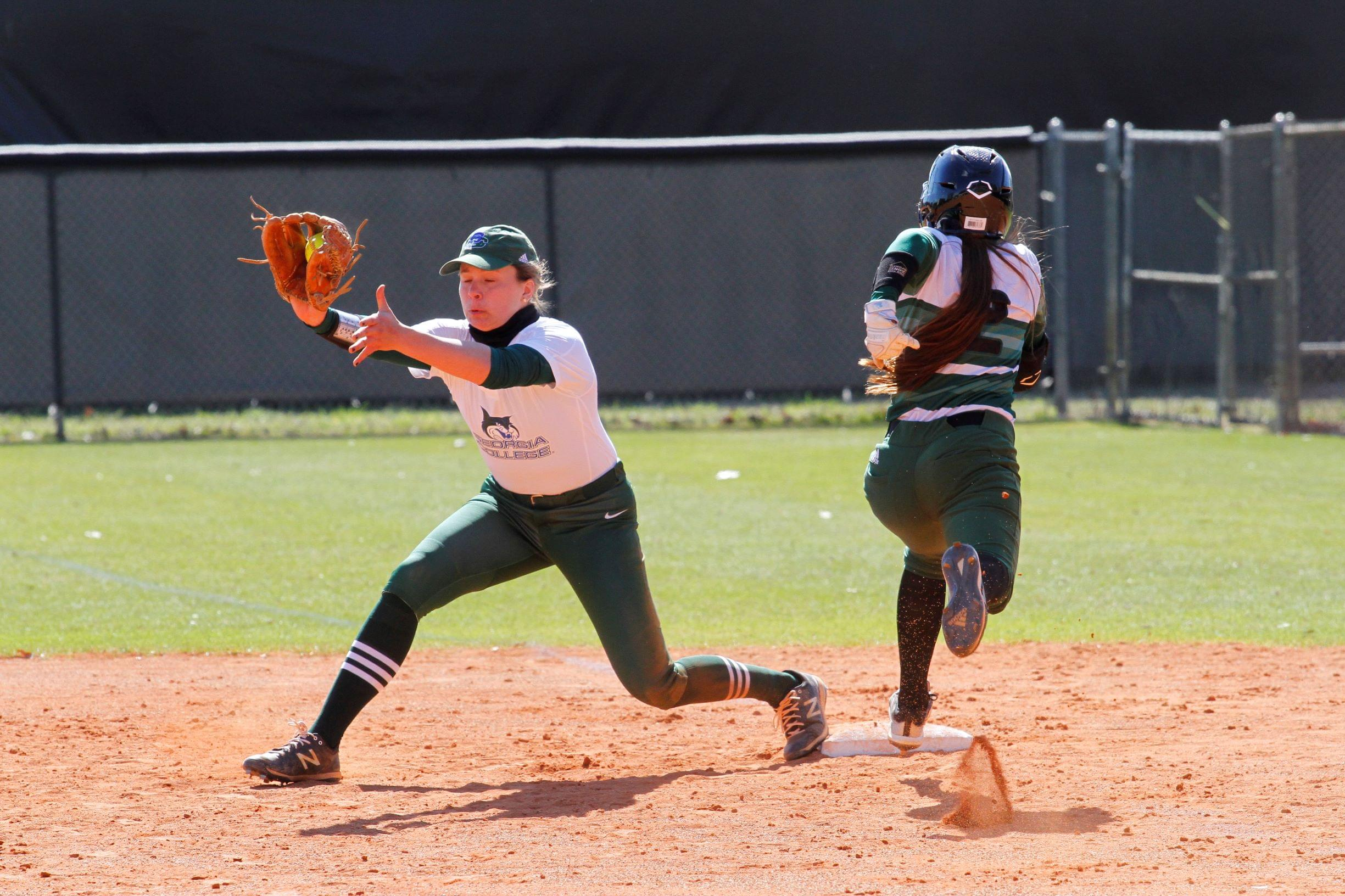Softball: Georgia College At UMO (PHOTO GALLERY)