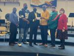 Alumni Chapter Makes Donation To Goldsboro H.S. Band
