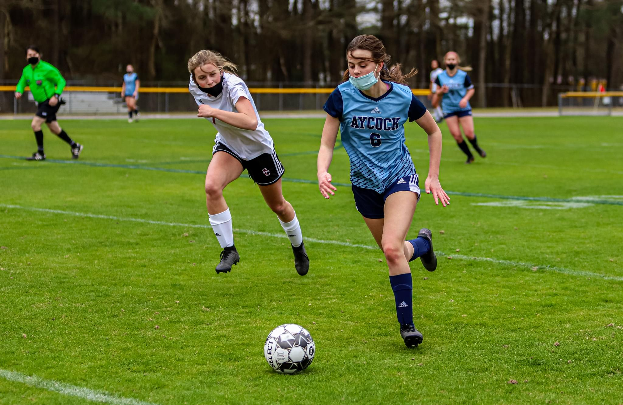 Girls Soccer: C.B. Aycock Opens Its Season Against South Central (PHOTO GALLERY)