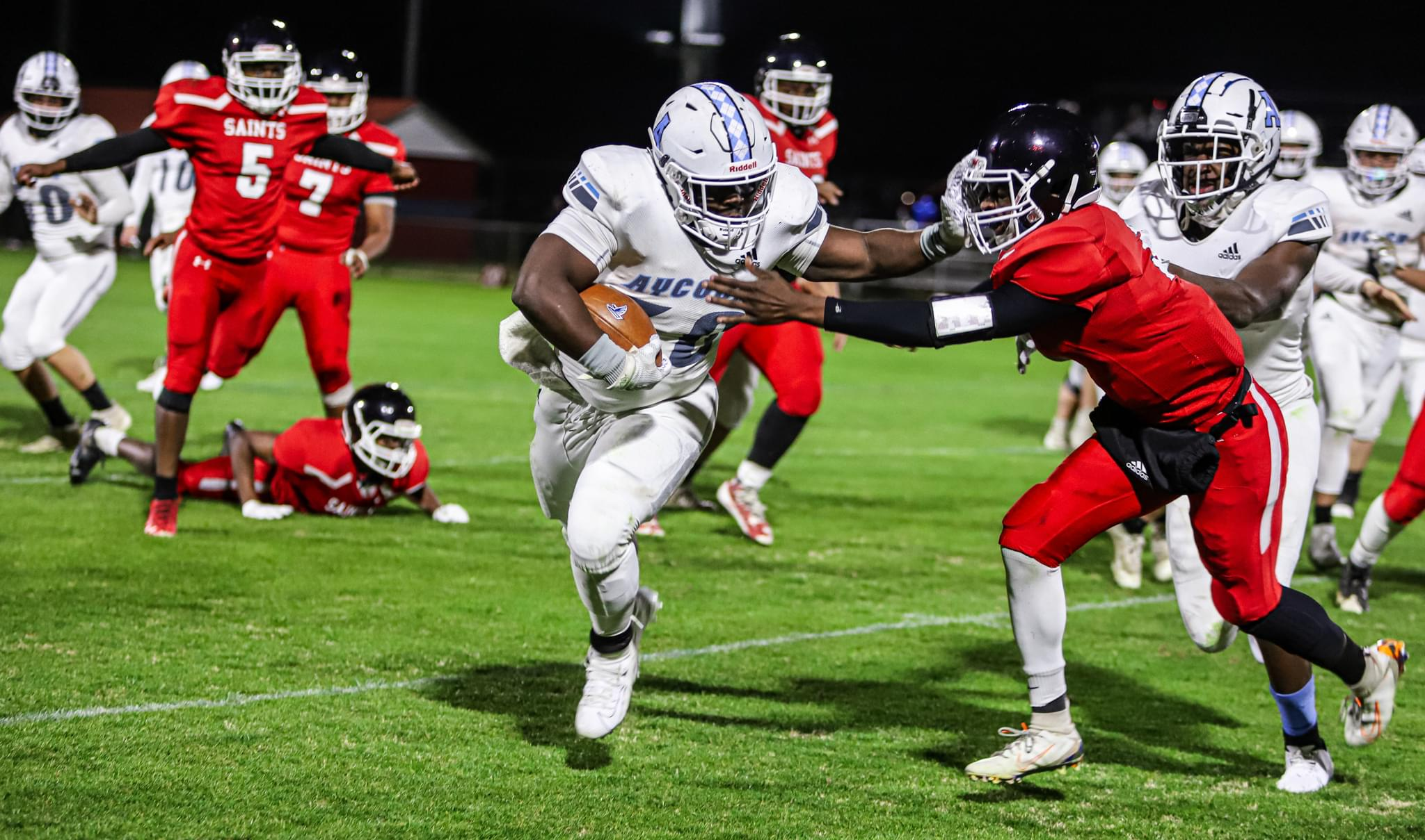 Football: C.B. Aycock Gets Its First Win Of The Season Against Southern Wayne (PHOTO GALLERY)