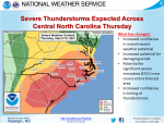 NWS: Potential For Severe Storms On Thursday
