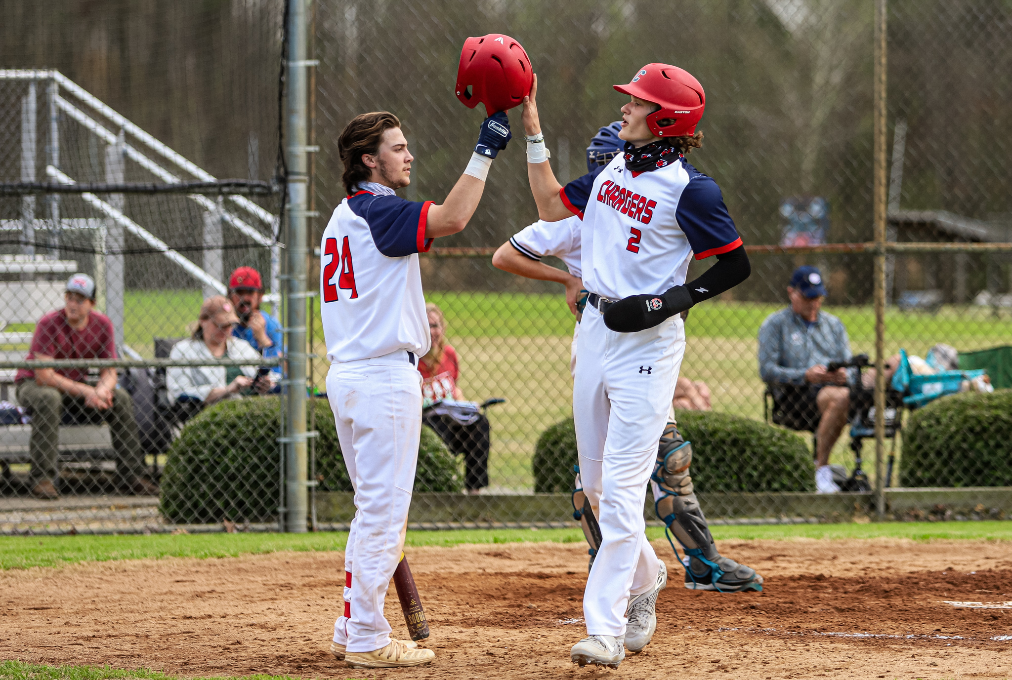 Baseball: WCDS Takes Care Of Southeastern Homeschool (PHOTO GALLERY)