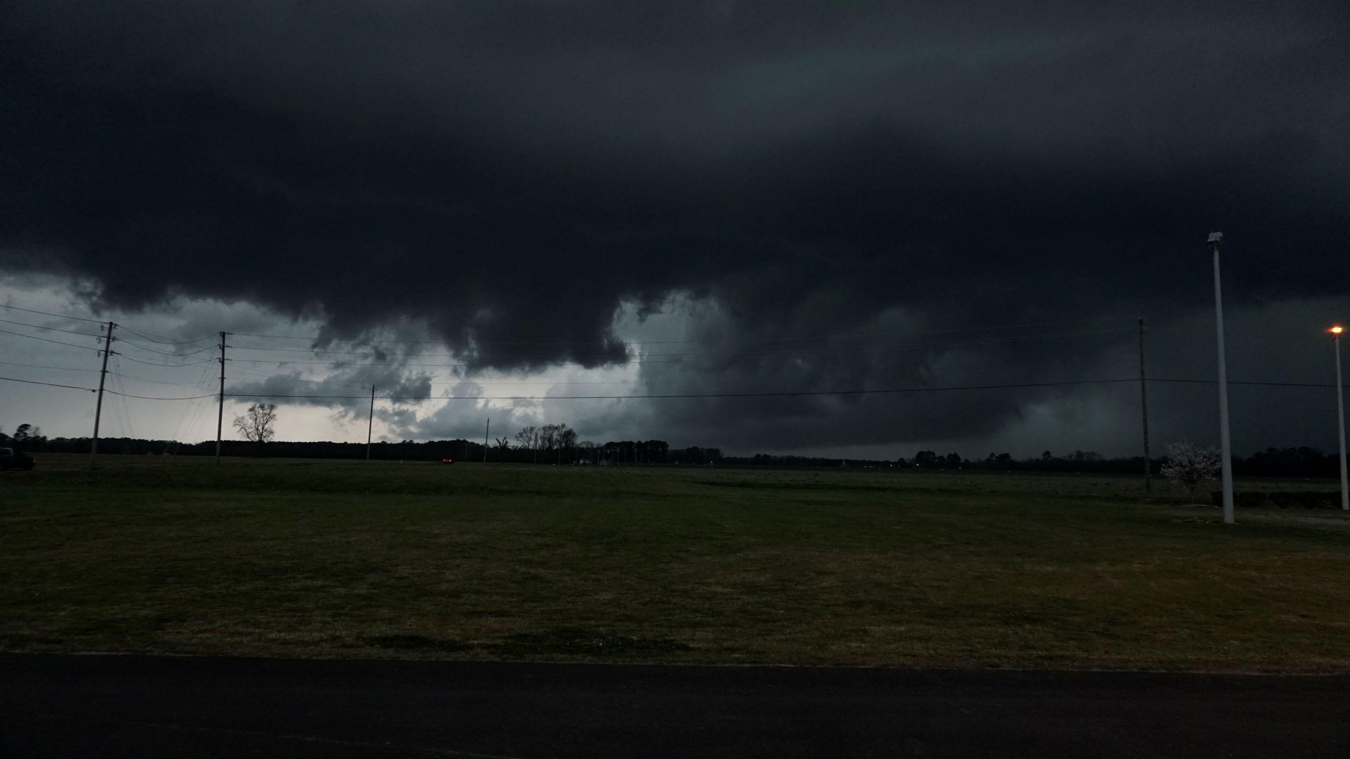 Heavy Storms Sweep Across Wayne County