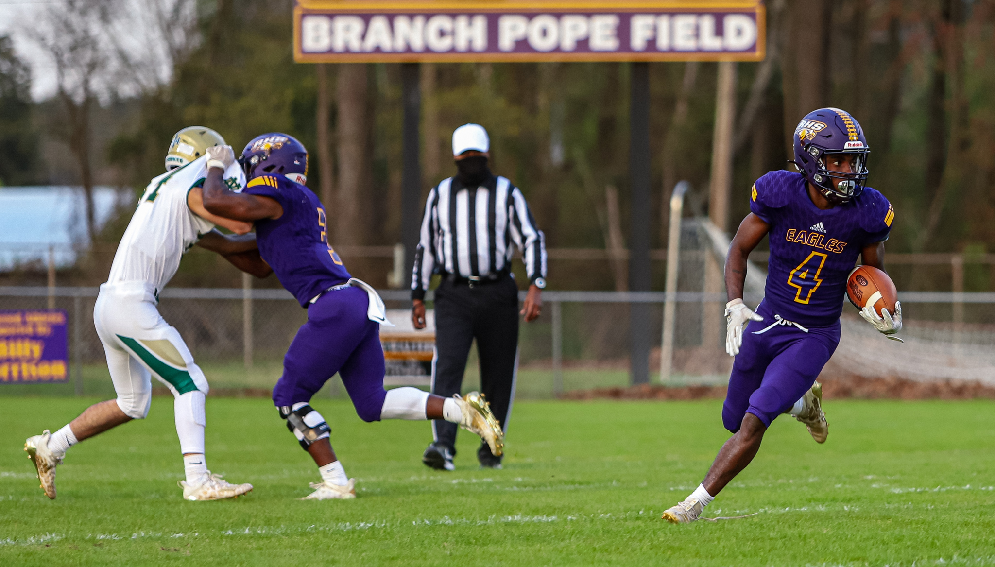 Football: Rosewood Shuts Out North Duplin (PHOTO GALLERY)
