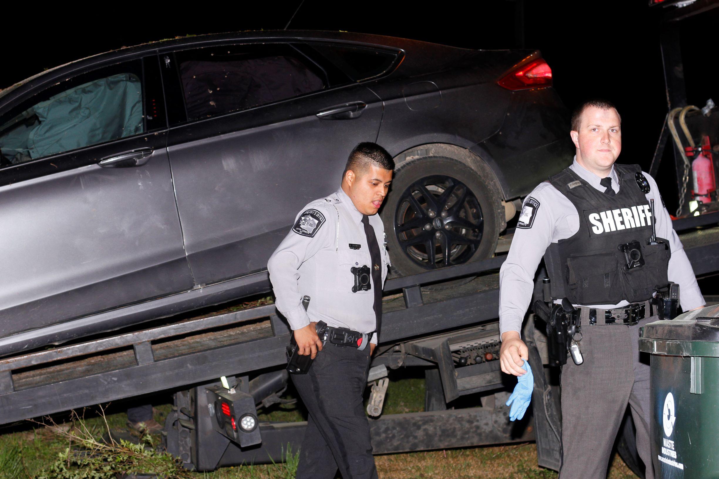 Car Crash Ends Brief Police Chase (PHOTOS)