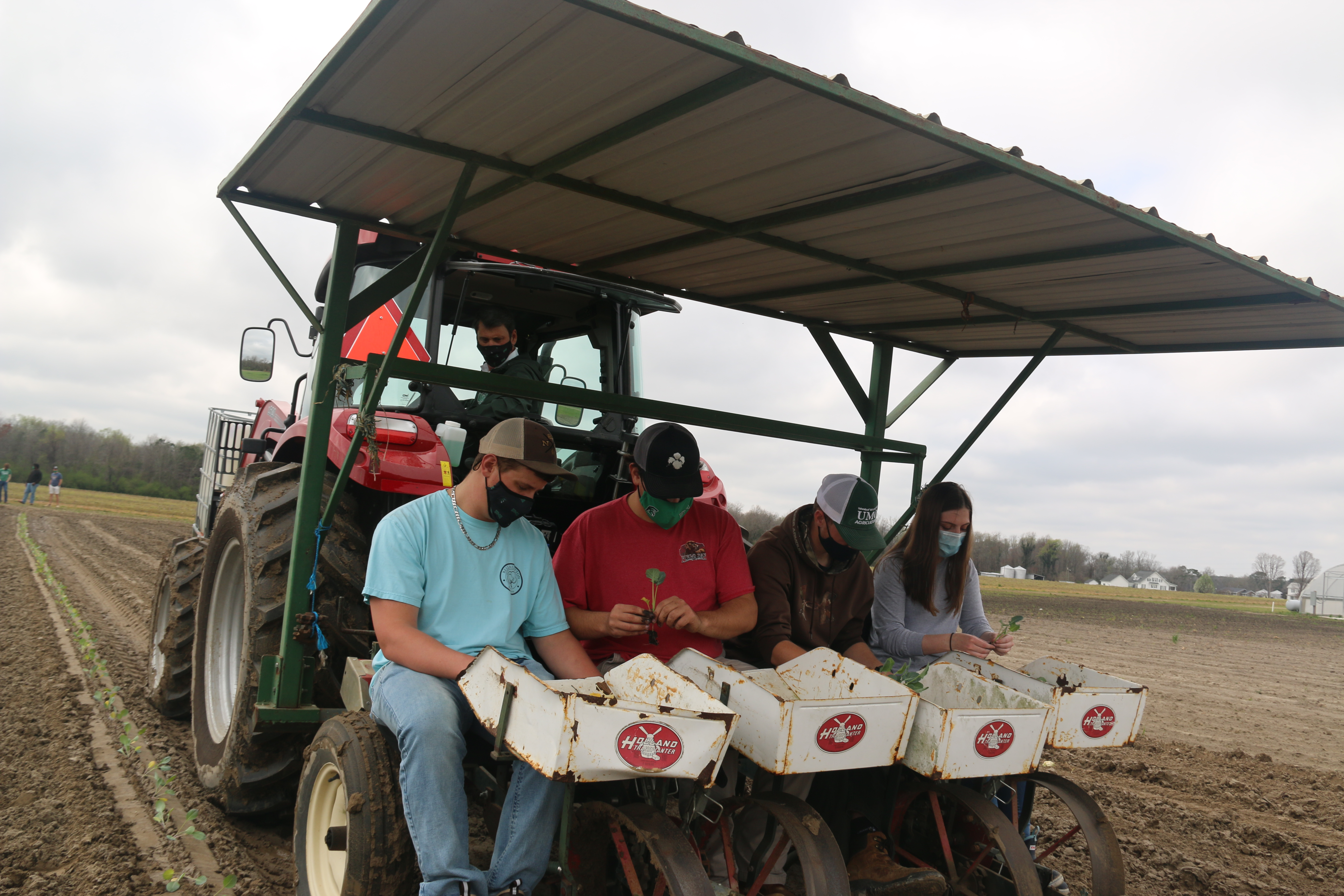 UMO President Shares Farm Experience With Ag Students